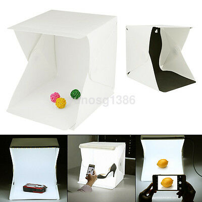 Light Room Photo LED Backdrop Box Mini Cube Studio Little Items Photography Box
