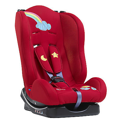 New My Child Chilton Group 0/1 Padded Baby Car Seat Red From Birth