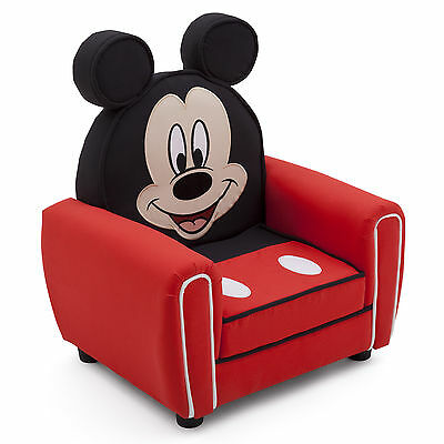 New Delta Children Disney Mickey Mouse Figural Upholstered Padded Armchair
