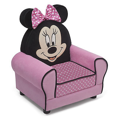 New Delta Children Disney Minnie Mouse Figural Upholstered Padded Armchair