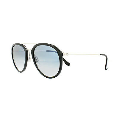 fe4575de48e Ray-Ban Sunglasses 4253 62923F Black Silver Light Blue Gradient