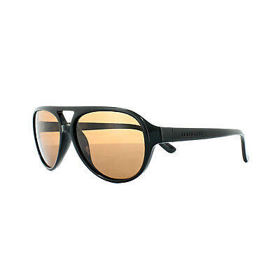 2ebdf5f2997 Serengeti Sunglasses Giorgio 8182 Shiny Black Brown Wood Drivers Brown  Polarized