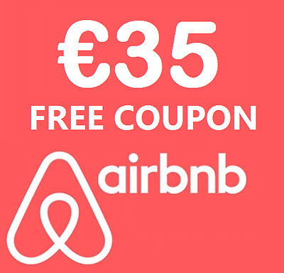 €35 discount on your first AirBnB booking