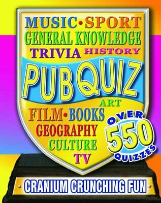 Pub Quiz (Jumbo 640 PBSCW) Paperback Book The Cheap Fast Free Post