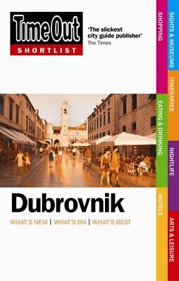 Time Out Shortlist Dubrovnik - 1st Edition by Time Out Guides Ltd Paperback The