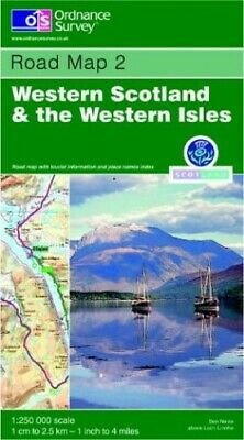 Western Scotland and the Western Isles (... by Ordnance Survey Sheet map, folded
