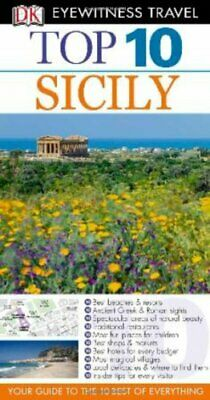 DK Eyewitness Top 10 Travel Guide: Sicily, Trigiani, Elaine Paperback Book The