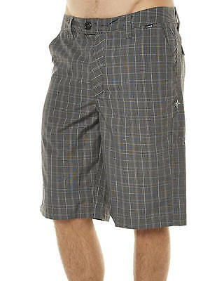 New Hurley Men's Barcelona Mens Walkshort Polyester Grey