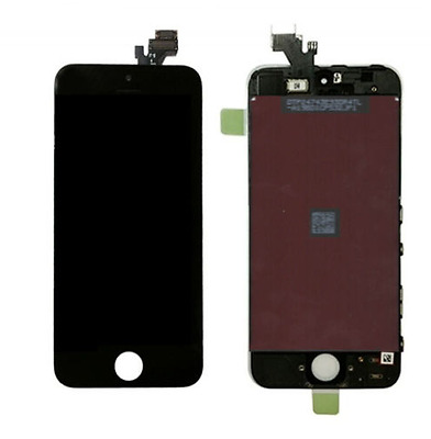 iPhone 5C Replacement LCD Full Front Screen And Digitizer Assembly Black