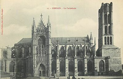 Cp Limoges Cathedrale 13332