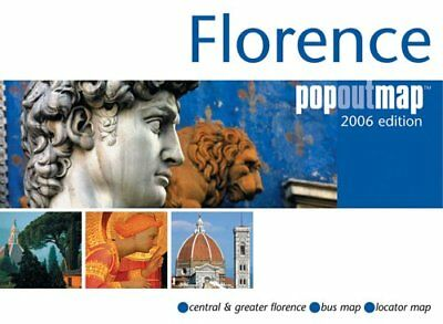 Florence Popout Map (Popout Maps), Auteur onbekend Other cartographic Book The