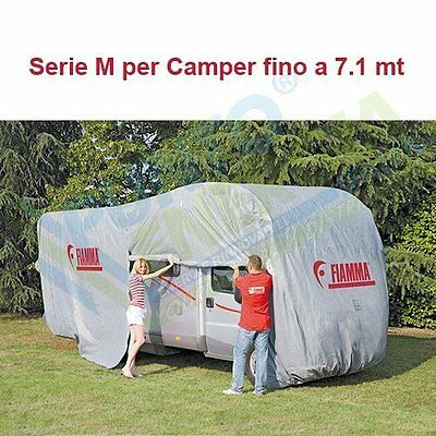 Coverage Fiamma Cover Premium protects from the sun and water Motorhome Caravan