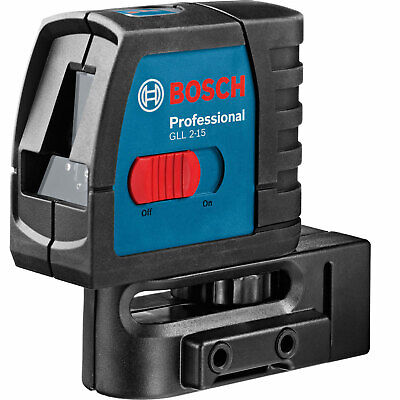 Bosch GLL 2-15 Cross Line Laser Level & BM3 Wall Mount