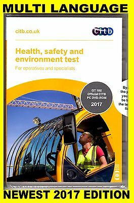 CSCS DVD for Operatives and Specialists 2017 - MULTI-LANGUAGE Edition