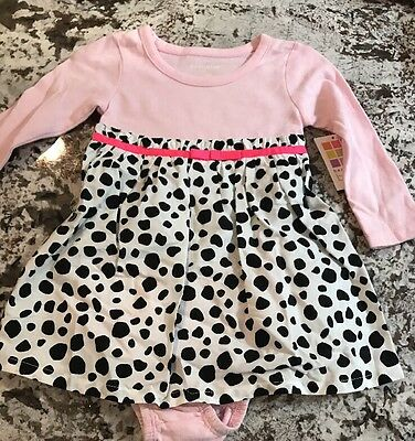 NEW WITH TAGS BABY GIRL DRESS SIZE 12m