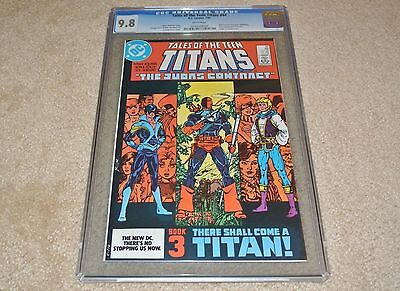 Cgc 9.8 Tales Of The Teen Titans #44 1St App. Of Nightwing! **white Pages** 1984