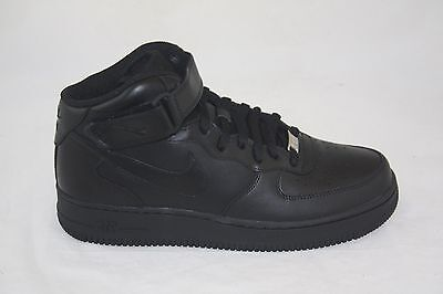 315123 001) MEN'S NIKE Air Force 1 Mid '07 Black/black