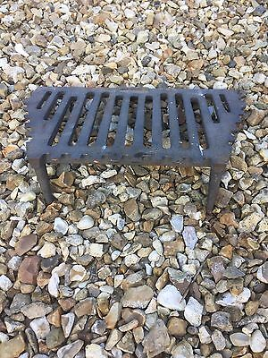 Victorian antique original fire grate
