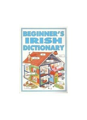 Beginner's Irish Dictionary, Shackell, John Paperback Book The Cheap Fast Free