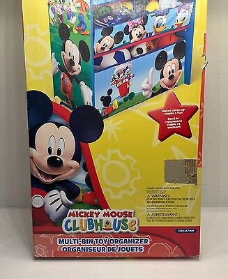Delta Children Disney Mickey Mouse Multi Bin Toy Organizer 35 29