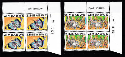 Zimbabwe 2004 Nature / Butterfly Sheet No. 0126, MNH
