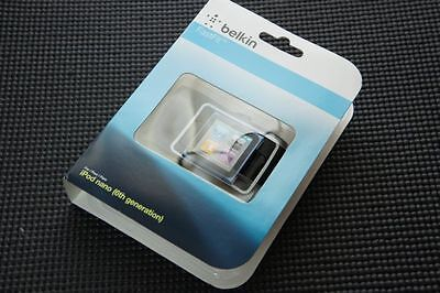 Brand New Belkin Fastfit Armband For Apple iPod Nano 6th Generation (black)