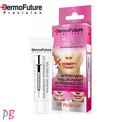 DermoFuture Intensive Hyaluronic Acid Lip Plumper Booster Filler Push Up Serum