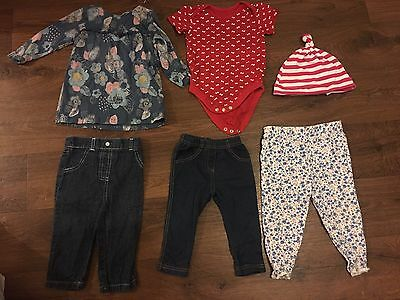 Baby Girl clothes bundle 6-9 9-12 months Summer Spring Leggings Top Clothing