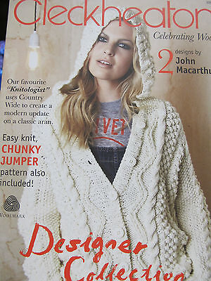 Cleckheaton Designer Collection Knitting Pattern Book,new,no 3004