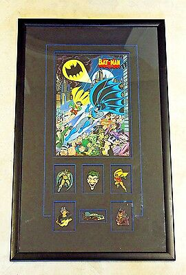 BATMAN AND ROBIN:THE DYNAMIC DUO Pin & Litho Warner Bros. Studio Stores Gallery