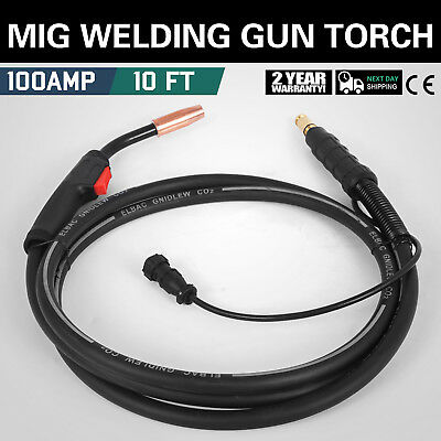Lincoln Magnum 100L K530-6 Replacement MIG Welding Gun MIG Torch 100 A 10ft