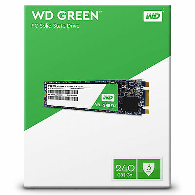 WD Green M.2 Internal SSD 120GB | 240GB Solid State Drive SATA 6Gb/s 2280 80mm