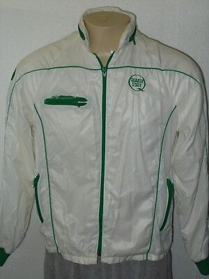Vintage 70's Quaker State Oil Full Zip Lightweight Racing Jacket Men Medium