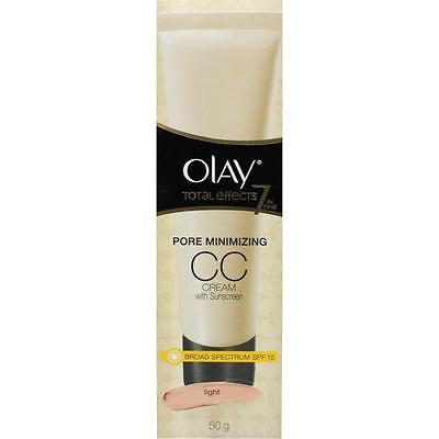 Olay Total Effects 7 in 1 Pore Minimizing CC Cream 50g - Light