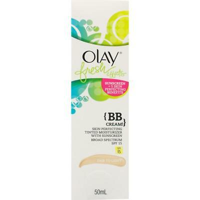Olay Fresh Effects BB Cream 50mL - 2 Shades to Choose From