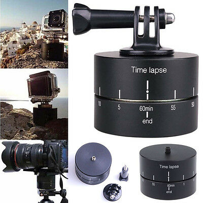 360 Rotation Panoramic Time Lapse Tripod Mount for Gopro 5 4 3+ 3 Sport Camera