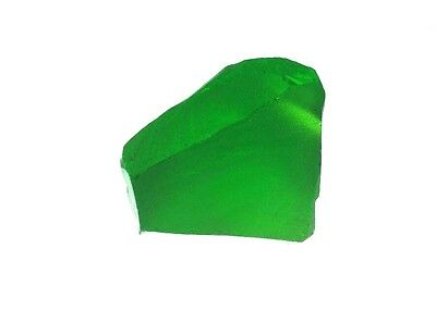 Nanosital Kryptonite Dark #B-1326 110 gr created green gemstone
