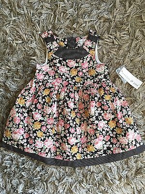 Baby Girls 9-12 Months Dress. Brand New With Tags - Maggie & Zoe