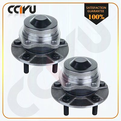 2 Rear Wheel Hub And Bearing New For Chrysler Town & Country 2004-2007 5 Lug