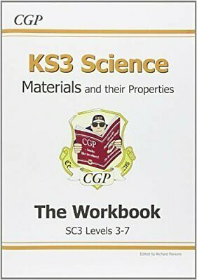 KS3 Science Workbook - Levels 3-5: Workbook (Without A... by CGP Books Paperback