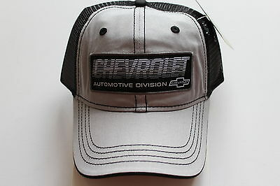 Chevy Chevrolet Licensed Cap Kappe One Size Trucker Style Snapback GM