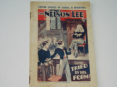 """""""Vintage""""...NELSON LEE comic...11th March 1933.....St.Franks....FREE POSTAGE"""