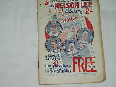"""""""Vintage""""...NELSON LEE comic...9th February 1929.....St.Franks....FREE POSTAGE"""