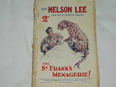 """""""Vintage""""...NELSON LEE comic...11th May 1929.....St.Franks....FREE POSTAGE"""
