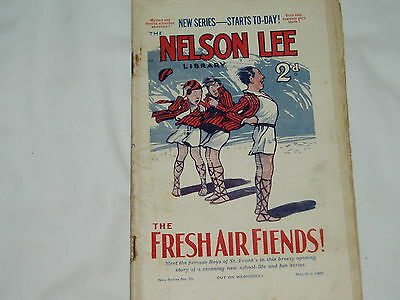 """""""Vintage""""...NELSON LEE comic...21st May 1927.....St.Franks....FREE POSTAGE"""