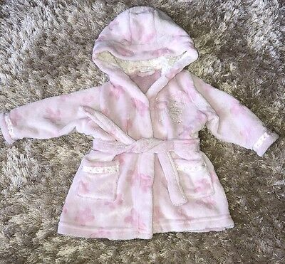 Baby Girls Winnie The Pooh Dressing Gown - 3-6 Months