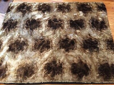 Antique  CHASE PLUSH Carriage Sleigh Car RUG LAP ROBE Blanket,Victorian