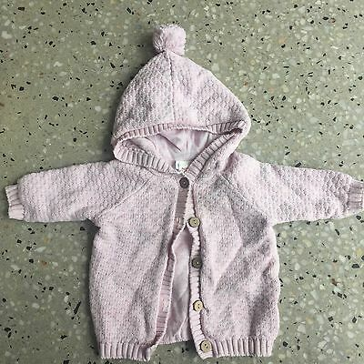 Seed Baby Knitted Cardigan Size 0-3mnths