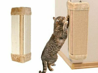 Cats Kitten Corner Sisal Wall Scratcher Pet Hanging Cat Scratching Post Board