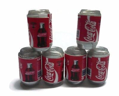 100 Mix Coca Cola Cans Dollhouse Miniatures Food Beverage Drink Soft New